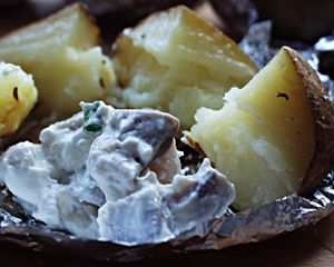 Sos do pieczonych ziemniaków