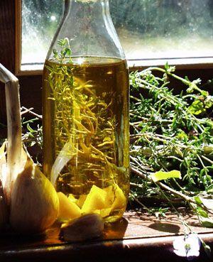 Oliwa z ziołami