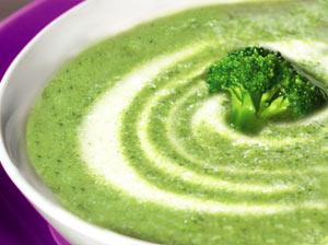 Krem z brokułów (zupa)